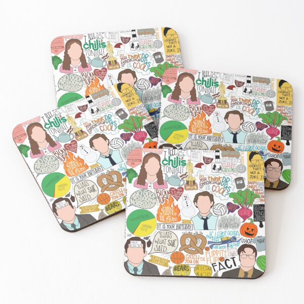 The Office  Coasters (Set of 4)