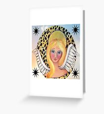Whimiscal Angel Greeting Card