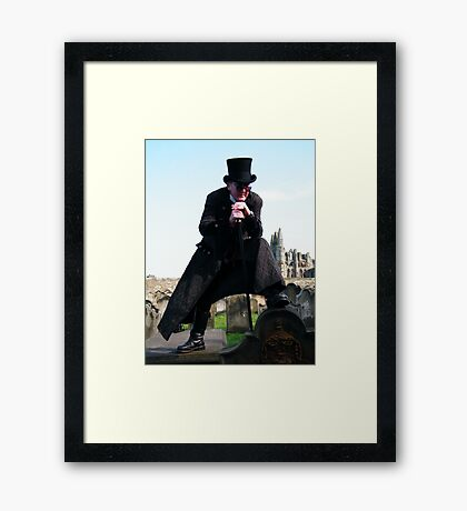 Come Get Me. . . .  If You Dare! Framed Print