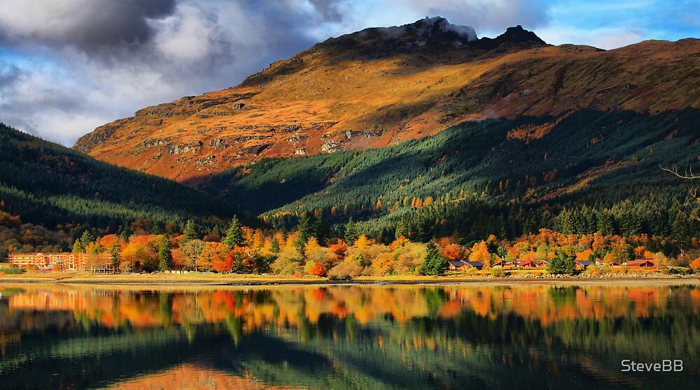 Arrochan on Loch Long by SteveBB