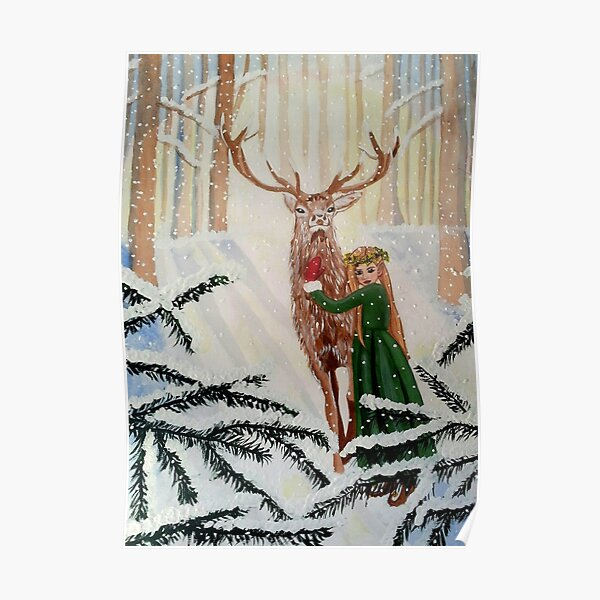 Woodland Wonder Spied Poster
