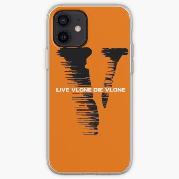 Live Vlone Die Vlone Coque souple iPhone