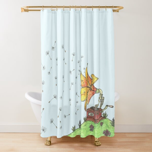Nature's Sound Shower Curtain