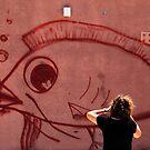 Photographer & the big fish by JudyBJ
