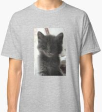 Sweet Grey Kitty Classic T-Shirt