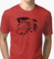 Last of the Meowhicans Tri-blend T-Shirt
