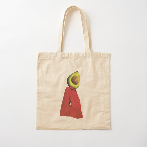 Rootless 2 (avocado) Cotton Tote Bag