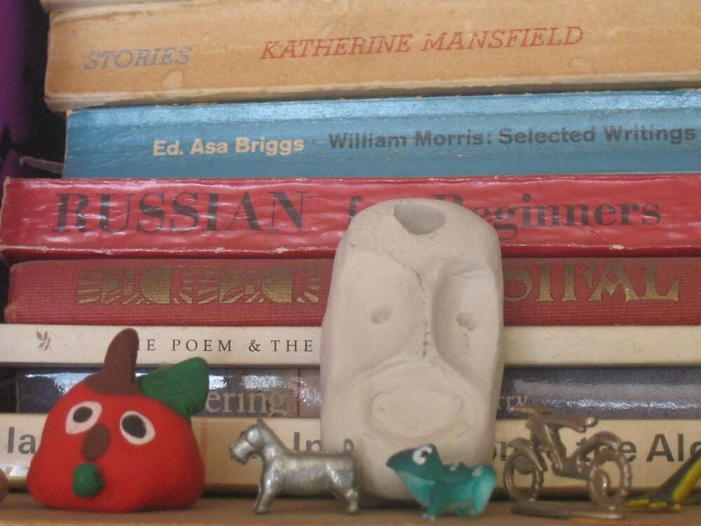 Bookshelf part two by abigcat