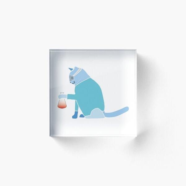 Curiosity killed the Cat Acrylblock