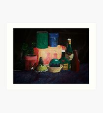 THERES STILL LIFE Art Print