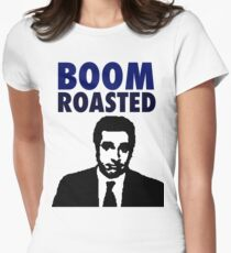 Boom Roasted  Women's Fitted T-Shirt