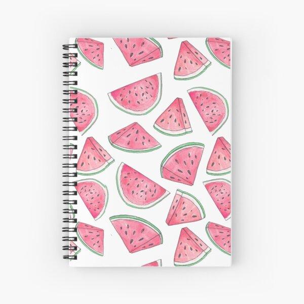 Watercolour Watermelons Spiral Notebook