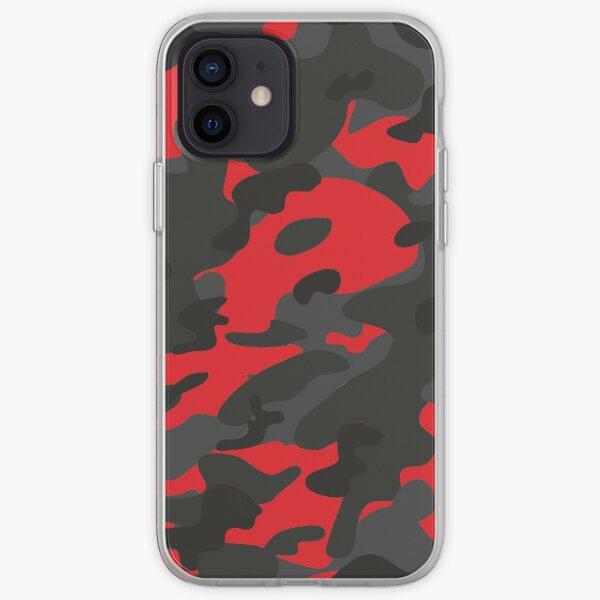 Camuflaje Funda blanda para iPhone