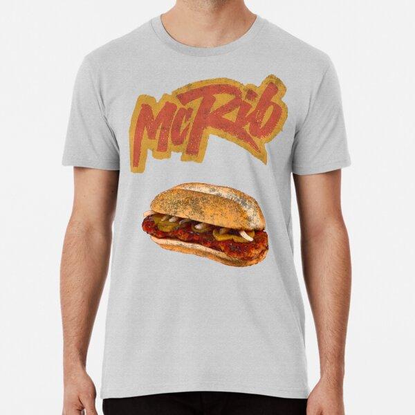 The McRib Is Back! Premium T-Shirt