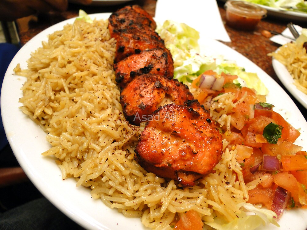 Zesty Chicken Tikka - At Bamiyan Kabab  by Asad Ali