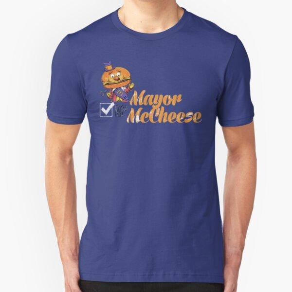 Mayor McCheese Slim Fit T-Shirt