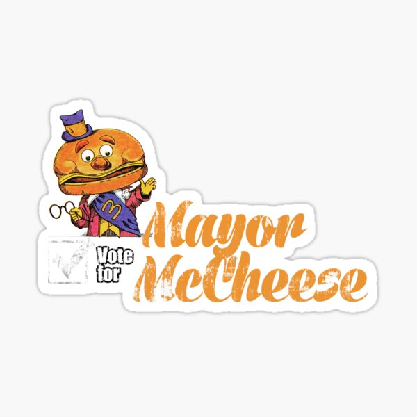 Mayor McCheese Sticker