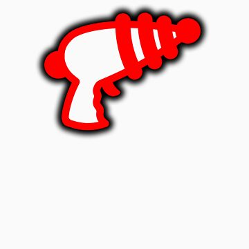 Red 'Muslamic Ray Gun' by alexvegas