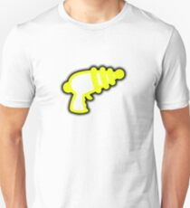 Yellow 'Muslamic Ray Gun' T-Shirt