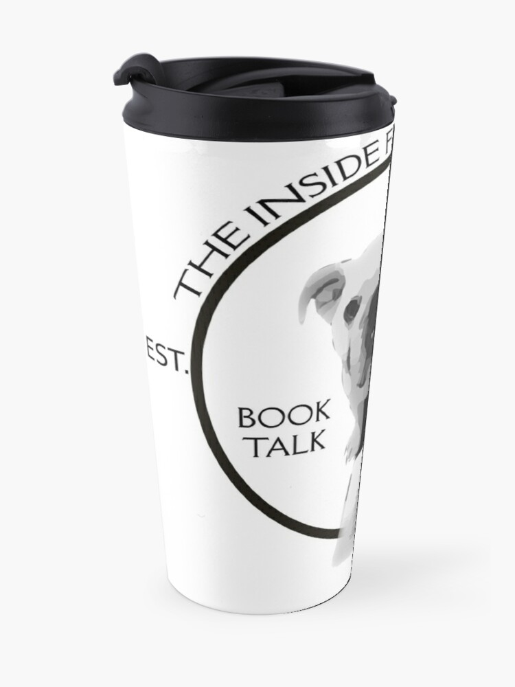 Alternate view of The Inside Flap Podcast Travel Mug