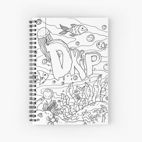 Ocean Drip Spiral Notebook