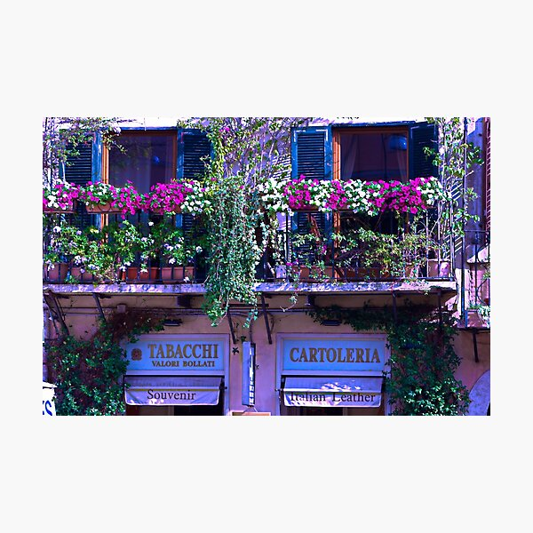 Floral Italy  Photographic Print