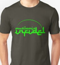 'Muslamic Infidel (Green) T-Shirt
