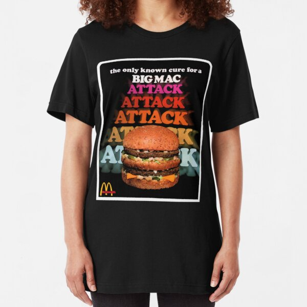 Big Mac Attack Slim Fit T-Shirt