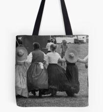 Hoop skirts BW Tote Bag
