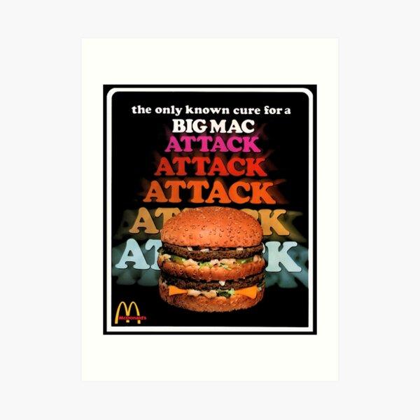 A 70's Mac Attack! Art Print
