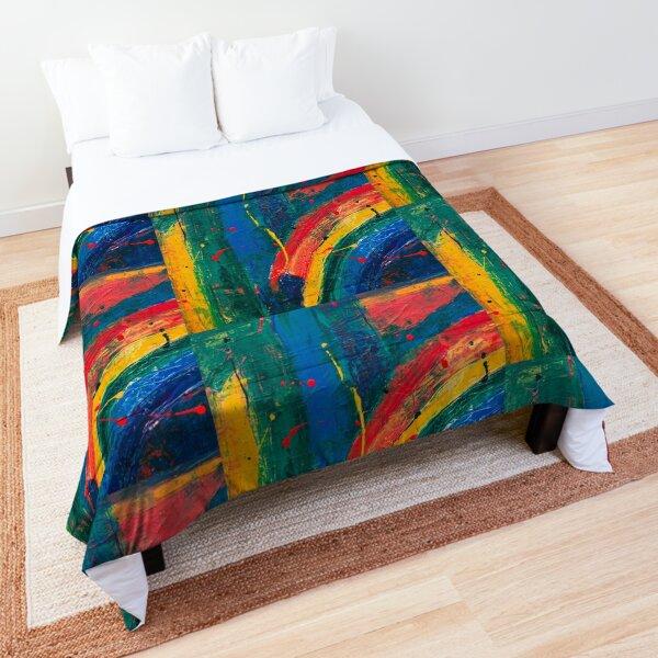 Wacky Rainbow Comforter