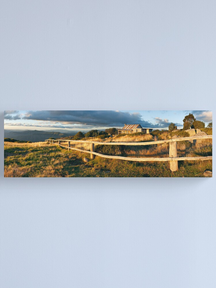 Alternate view of Craig's Hut Autumn Sunset, Australia Canvas Print