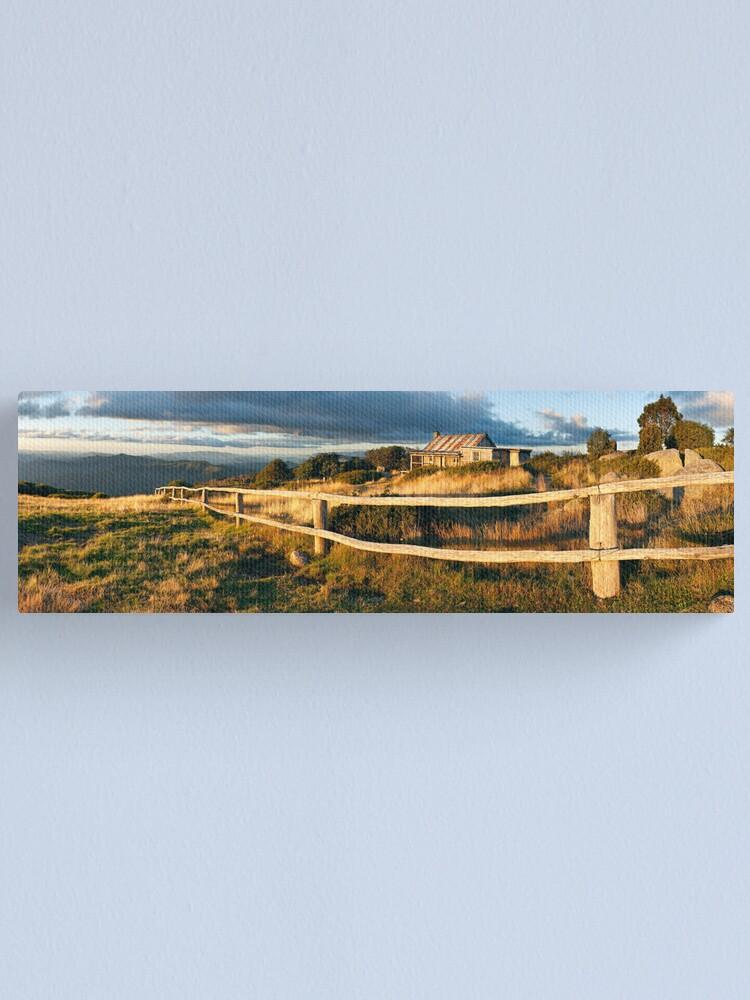 Alternate view of Craig's Hut Autumn Sunset, Australia Canvas Print