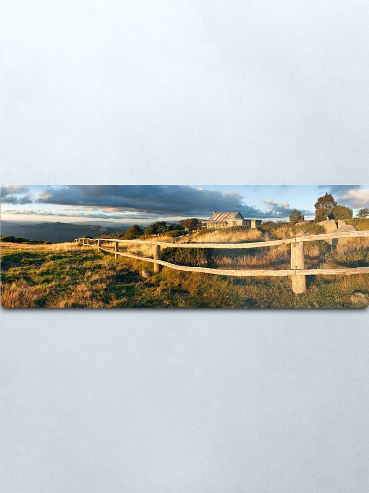 Alternate view of Craig's Hut Autumn Sunset, Australia Metal Print