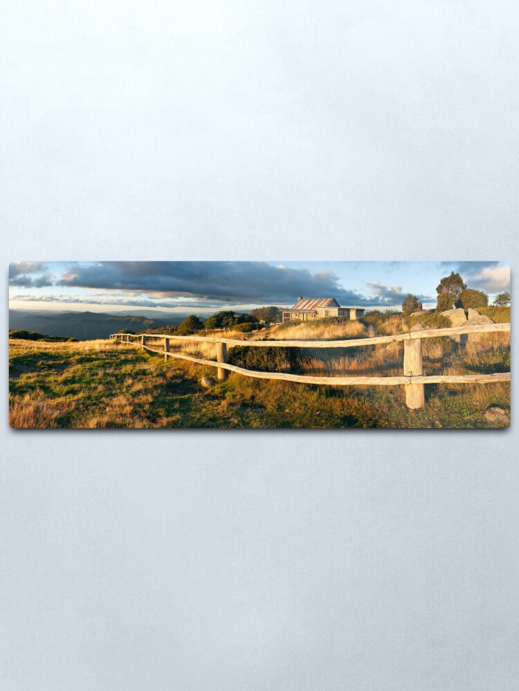 Alternate view of Craig's Hut Autumn Sunset, Australia Metal Print