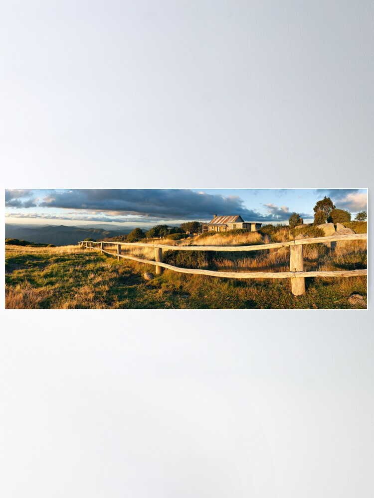 Alternate view of Craig's Hut Autumn Sunset, Australia Poster