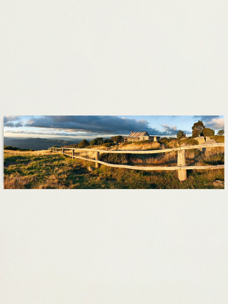 Alternate view of Craig's Hut Autumn Sunset, Australia Photographic Print
