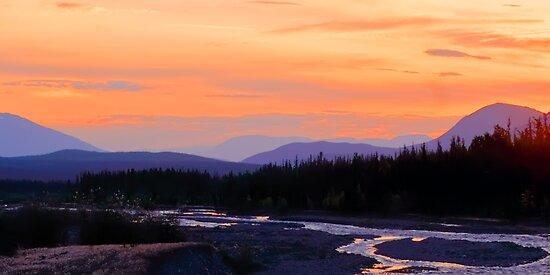 Quill Creek Sunrise by Yukondick