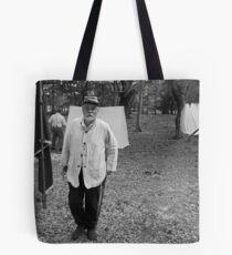Survivor BW Tote Bag
