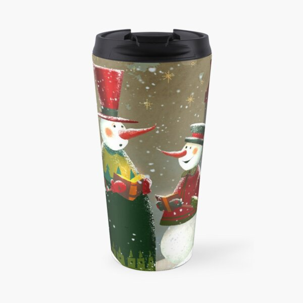 Silent Night Travel Mug