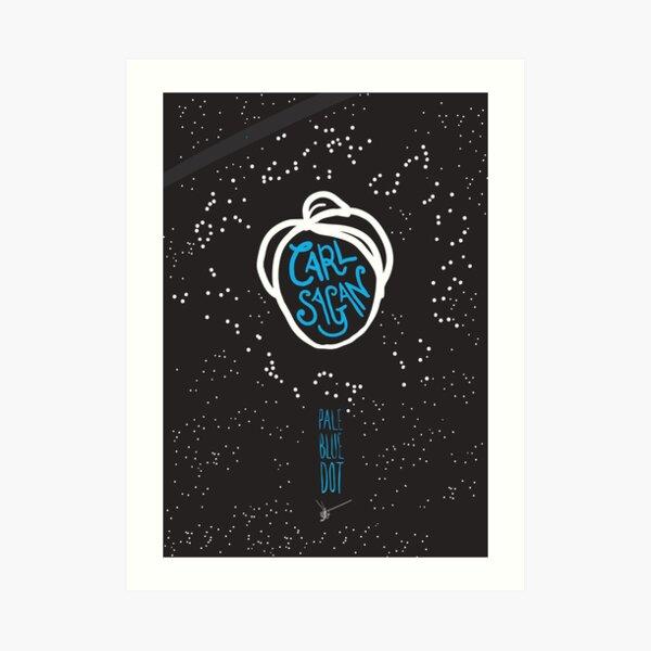 Carl Sagan: Pale Blue Dot Art Print