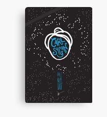 Carl Sagan: Pale Blue Dot Canvas Print