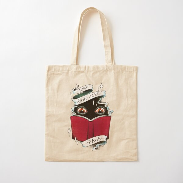 One More Page Cotton Tote Bag