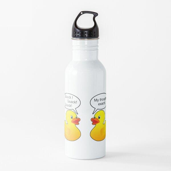 Funny talking Rubber ducks Water Bottle