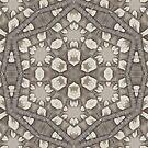 Light Industry 5 Kalo Pattern Design by Jenny Meehan by JennyMeehan
