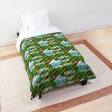 It's HOW many days until Christmas?! Santa Gumball Watterson Comforter
