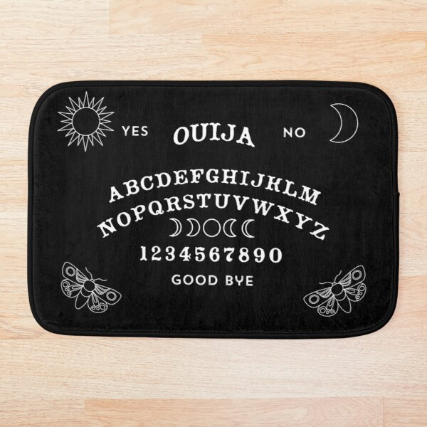 Ouija Board Bath Mat