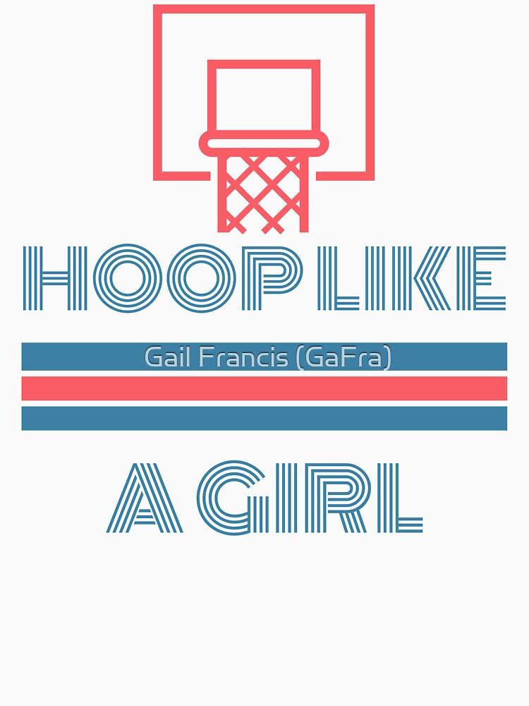 Hoop Like A Girl by TriniArtStudio