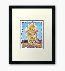 Animal Parade Chicken Framed Print