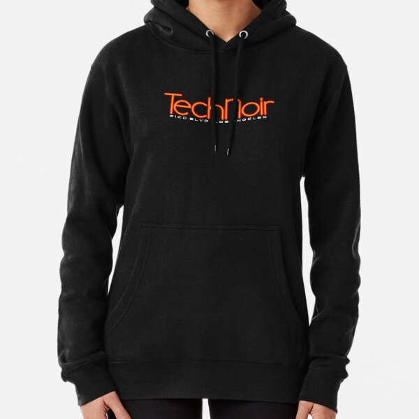 Tech Noir Pullover Hoodie